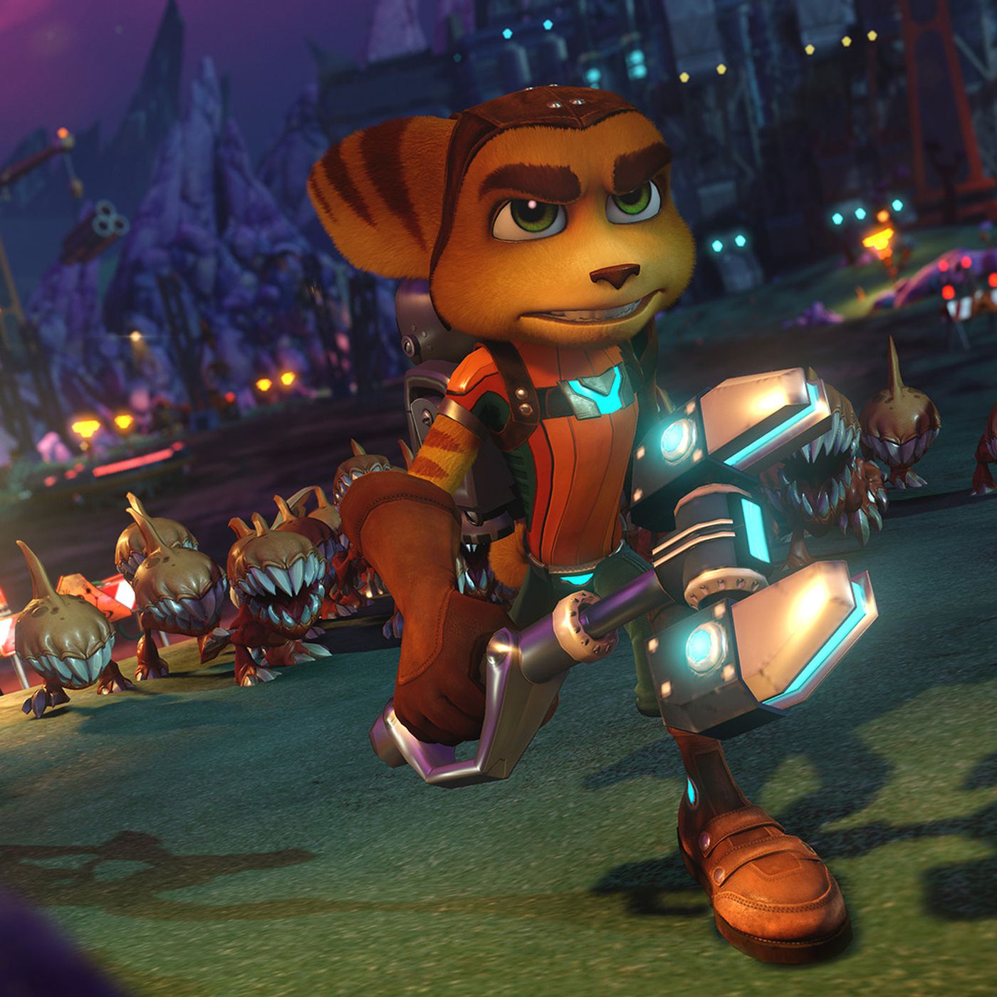 Watch 80 Minutes Of Ratchet Clank On Ps4 Including Hoverboard