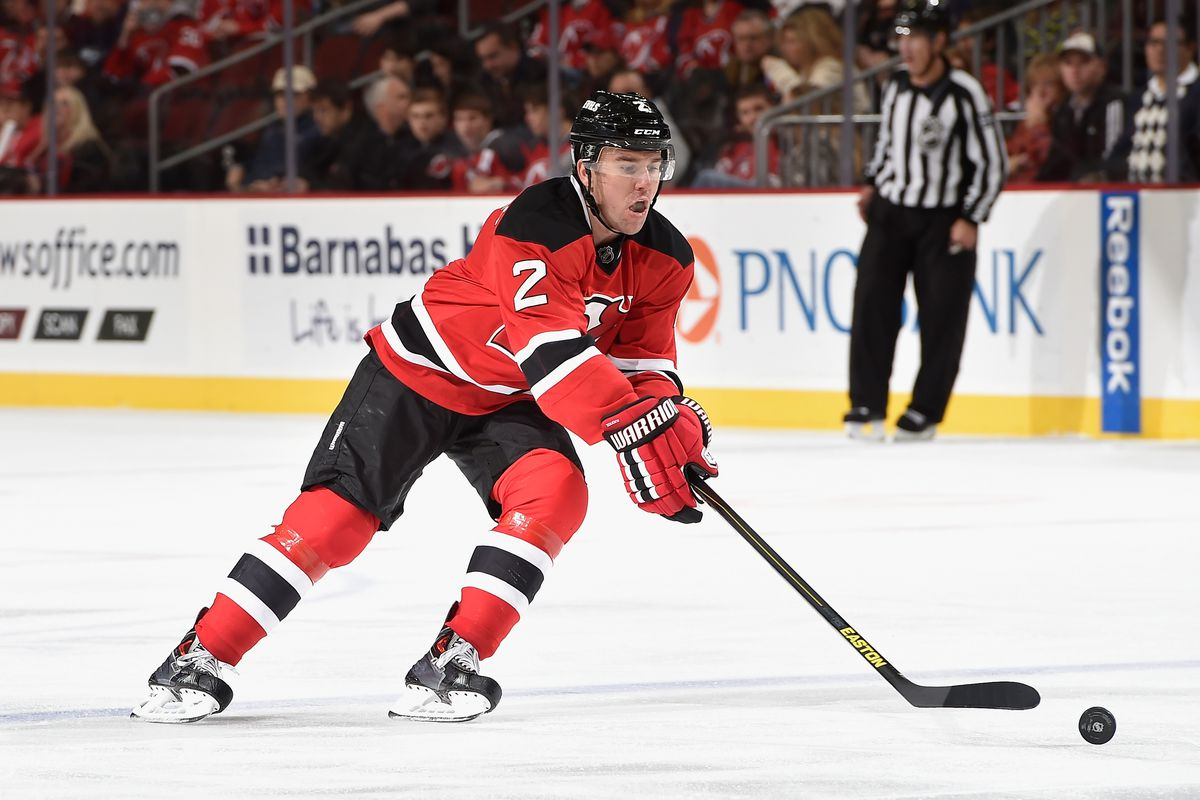 Could this be Marek Zidlicky's final game with the Devils?