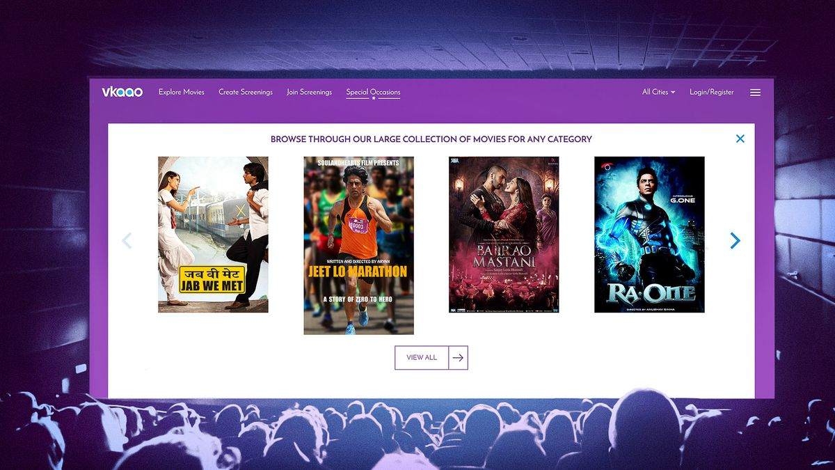 India's movie-theater-on-demand apps Vkaao & 1018mb might be