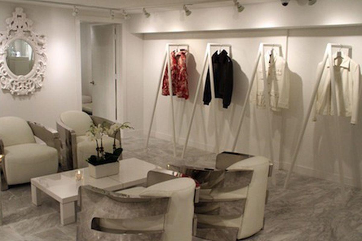 "Photo by <a href=""http://www.wwd.com/menswear-news/retail-business/jon-koon-breaks-the-mold-with-private-stock-flagship-6880547"">WWD</a>"
