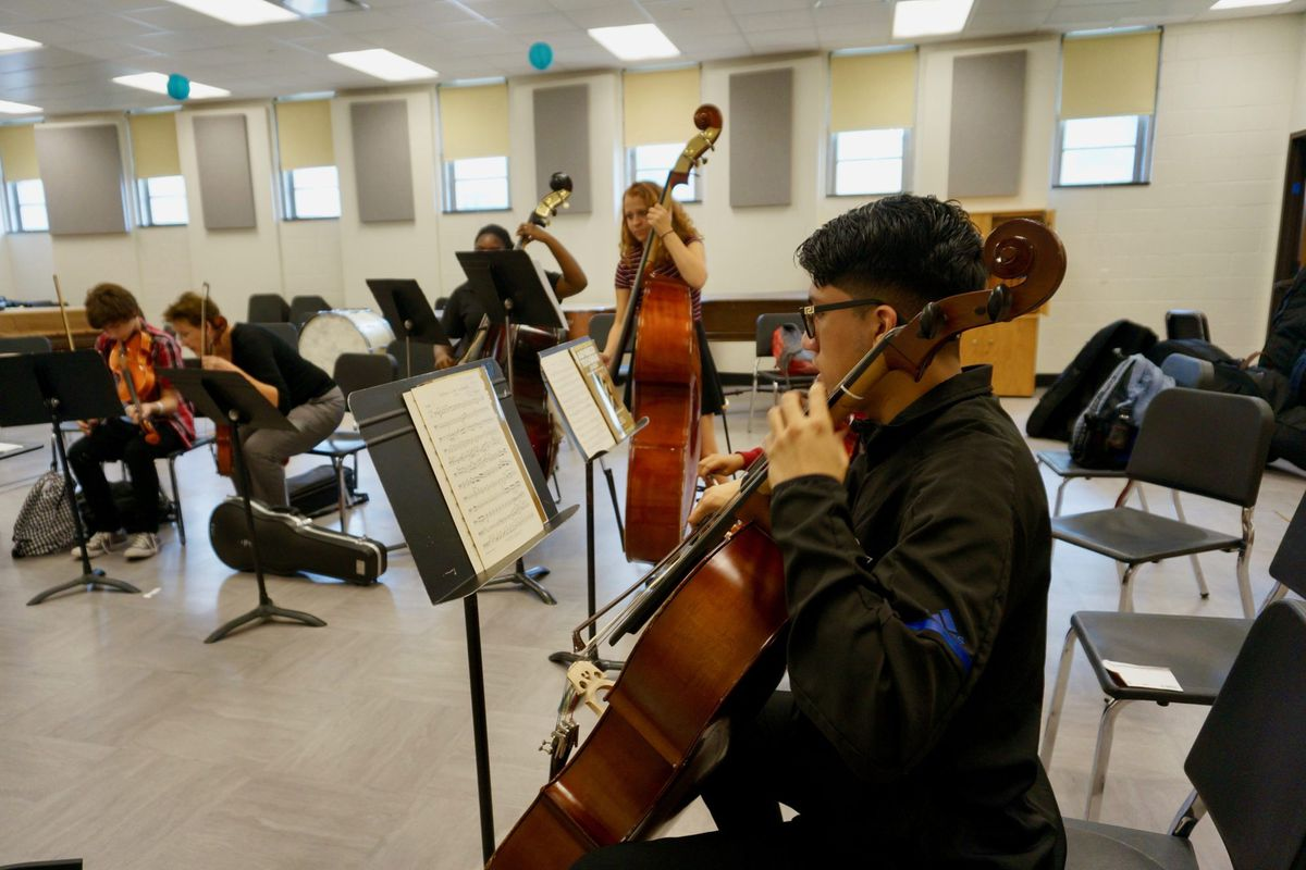 Orchestra and other music offerings have expanded at Shortridge.