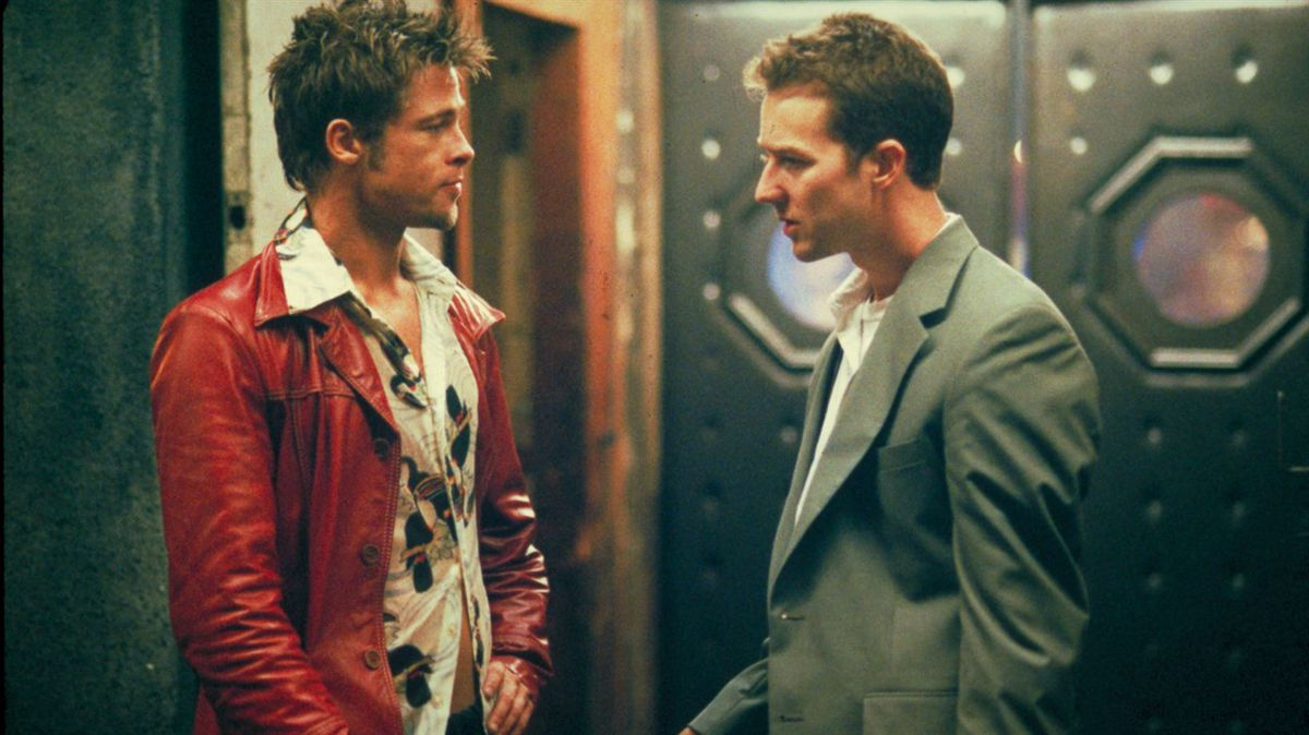 Brad Pitt and Ed Norton tore up the screen in cult favorite Fight Club.
