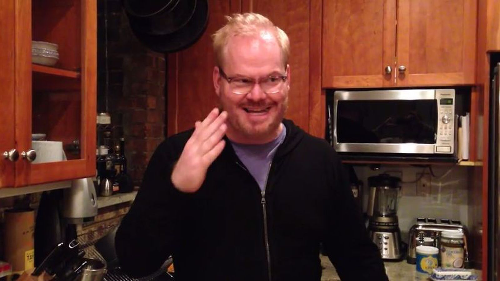 Watch Comedian Jim Gaffigan Talk About His Upcoming Book