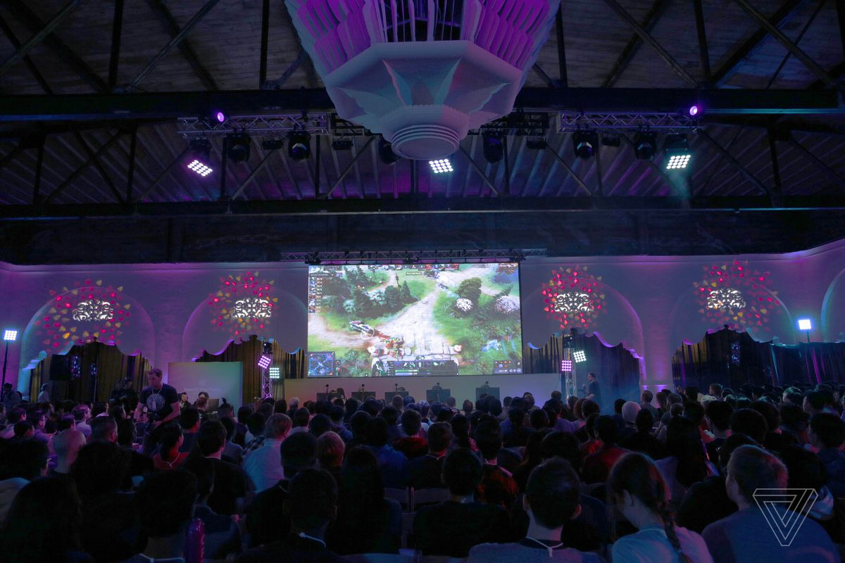 OpenAI's Dota 2 AI steamrolls world champion e-sports team with back