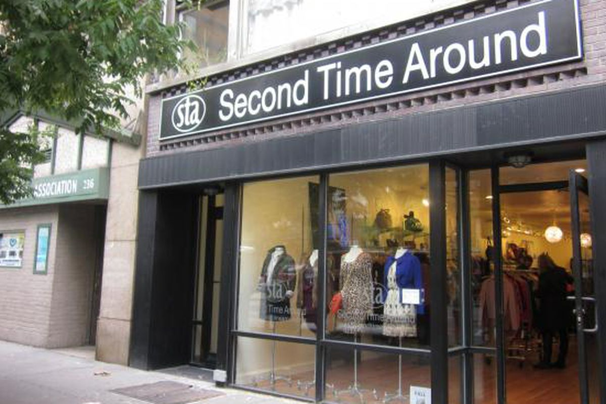 """Second Time Around's UWS store. Image via <a href=""""http://www.dnainfo.com/new-york/20130709/stuy-town/consignment-boutique-bring-high-end-womens-fashion-stuy-town"""">DNA Info</a>"""