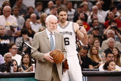 NBA: Playoffs-Houston Rockets at San Antonio Spurs