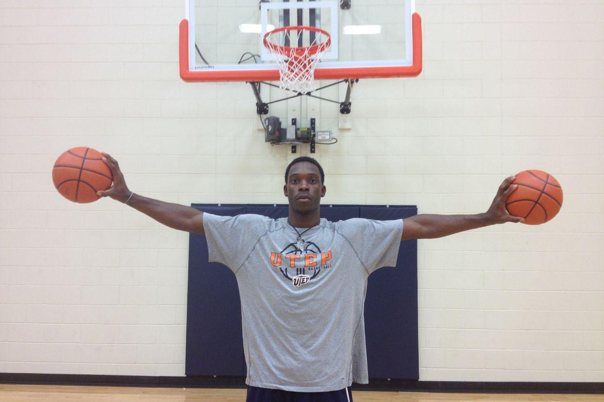 Twymond Howard at the Foster Stevens Basketball Complex. 6/21/2012