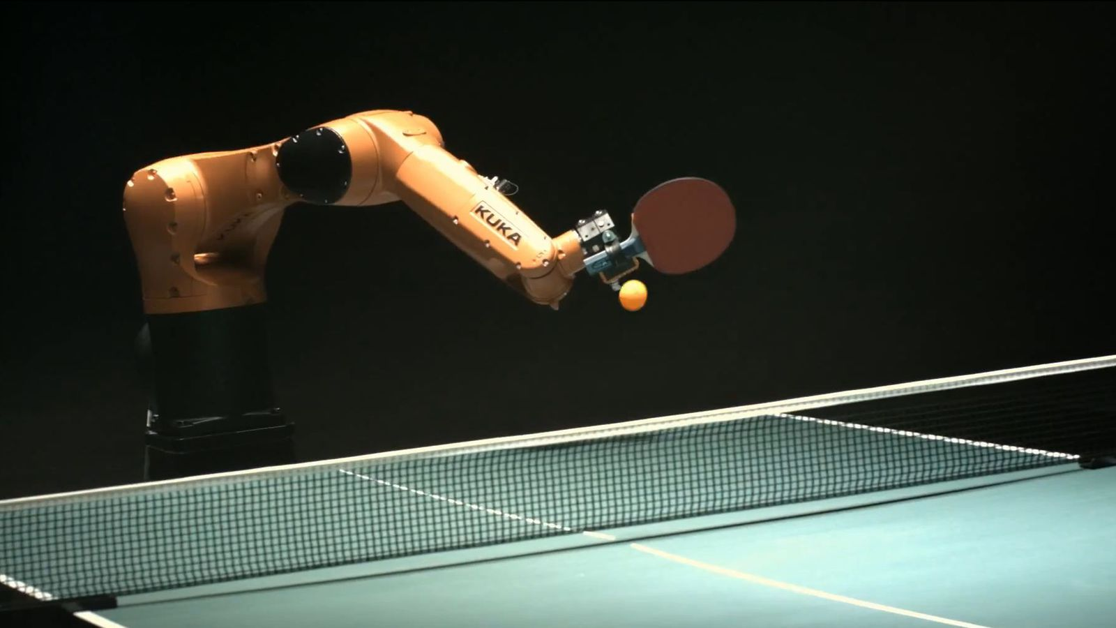 Everybody Loses In Ping Pong Match Between Robot And Man