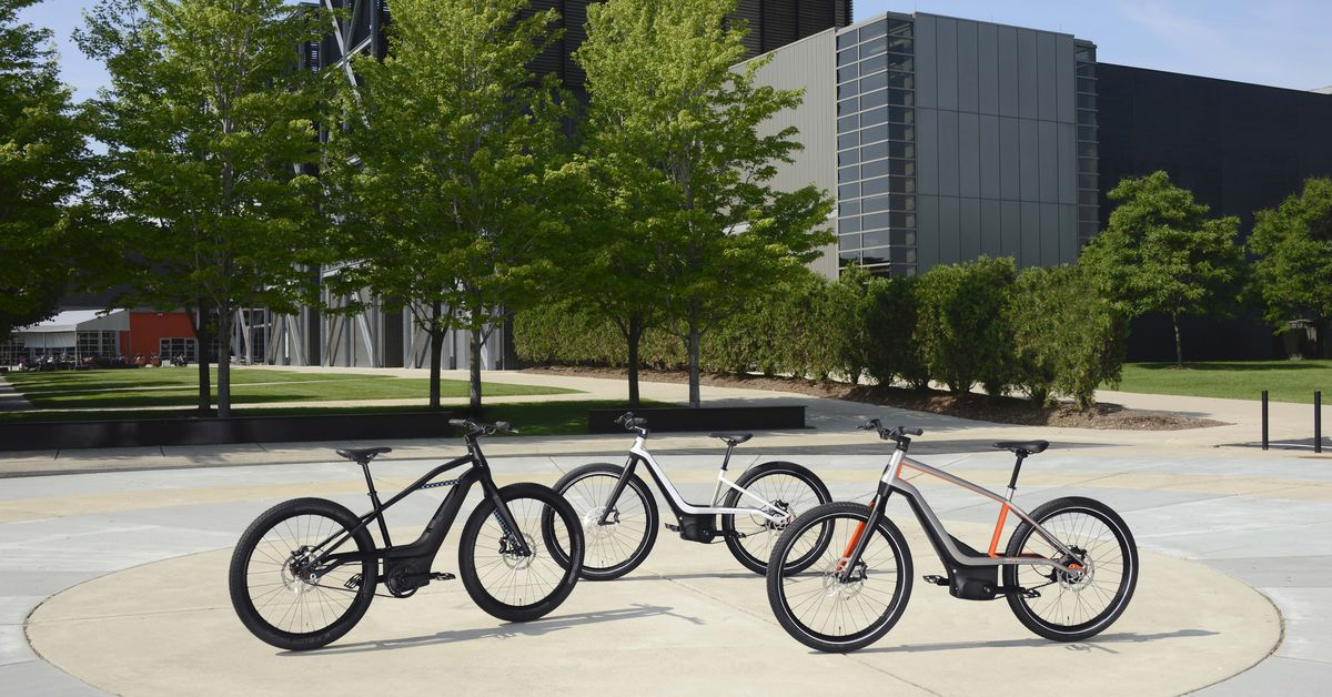 Harley-Davidson offers a sneak peek of its new electric bikes, going on sale in 2020