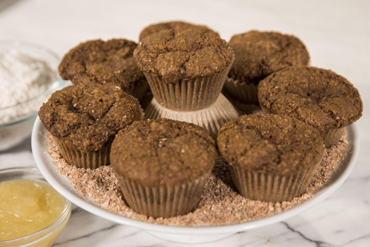 Bran muffins made by Monique Volz of Ambitious Kitchen. | Ashlee Rezin/Sun-Times