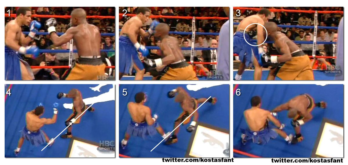 Floyd Mayweather Jr. vs. Sharmba Mitchell