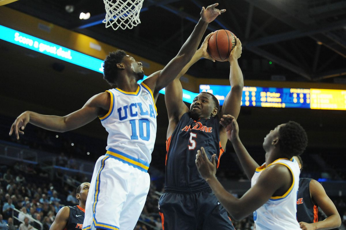 Pepperdine star Stacy Davis couldn't get it done in Westwood.