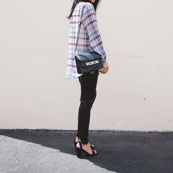"""Ann of <a href=""""http://www.andyheart.com/"""">Andy Heart</a> is wearing a Zara shirt and <a href=""""http://www.zara.com/webapp/wcs/stores/servlet/product/us/en/zara-nam-S2013/358014/1171526/MID-HEEL+SANDALS++WITH+ANKLE+STRAP"""">sandals</a>, a <a href=""""https://ww"""