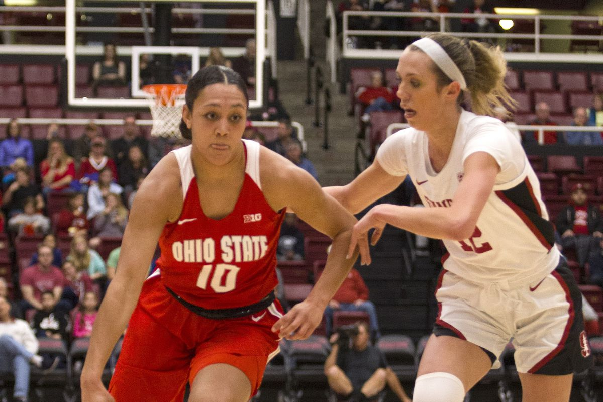 COLLEGE BASKETBALL: DEC 15 Women's Ohio State at Stanford