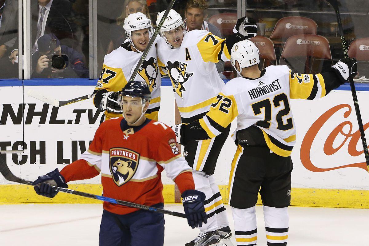 127370afc54 Pittsburgh Penguins at Florida Panthers
