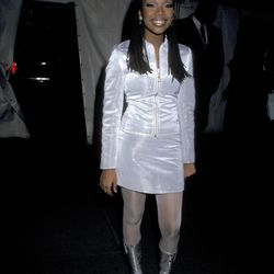 Although the 1995 Met Gala theme was NOT 'Zenon: Girl of the 21st Century,' poor Brandy didn't seem to get the memo.