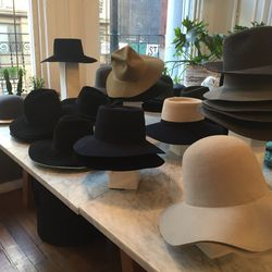 Cylde hats, $117