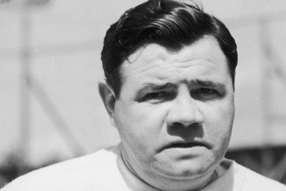 "Baseball player George Herman ""Babe"" Ruth."