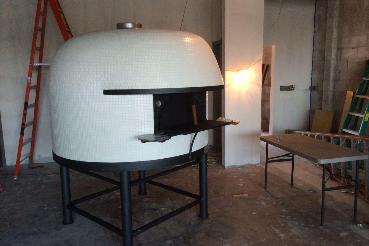 Bufalina Due's new oven