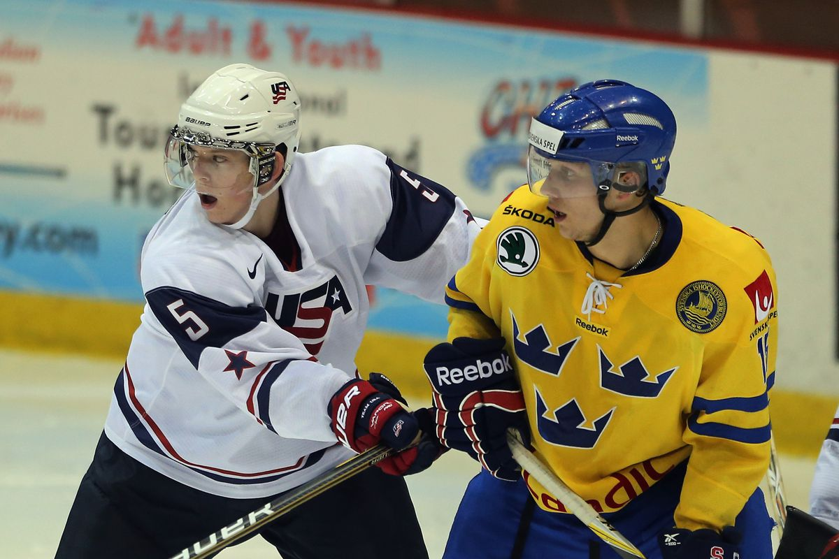 World Junior Hockey 2013 Coyotes Prospect Connor Murphy Makes Usa