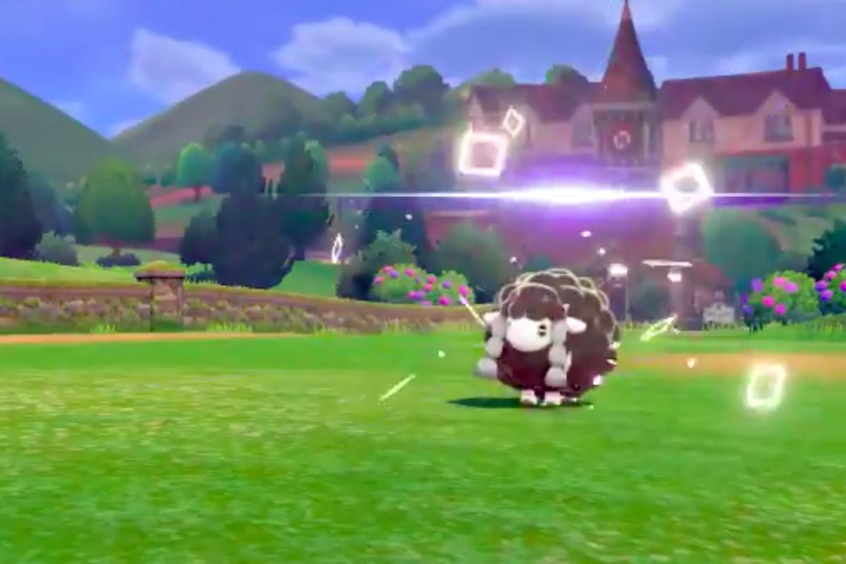 """A rare """"square Shiny"""" Pokémon."""
