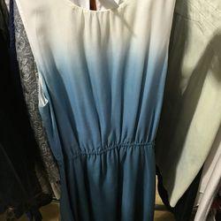 Erin by Erin Fetherston Blue Sea mist dress, $49 (was $245)