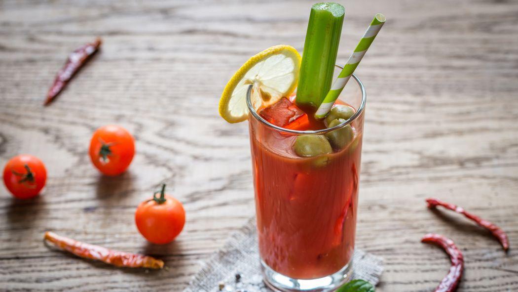 Stock veggie cocktail