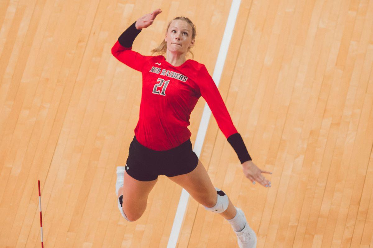 Lauren Douglass Women S Volleyball Texas Tech Red Raiders