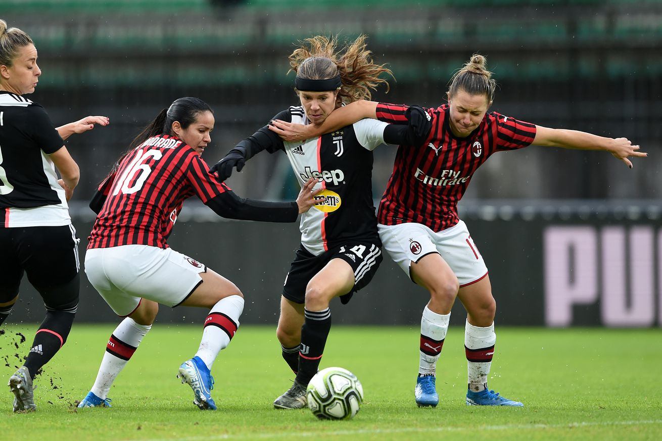 Rossoneri Round Up for Nov 18: AC Milan Women Score At Last Gap To Keep Unbeaten Record