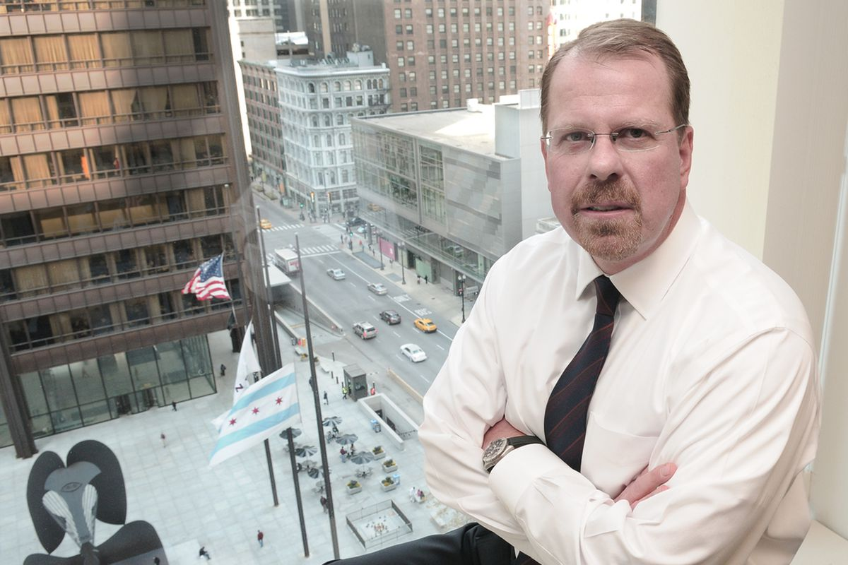 Cook County Inspector General Patrick Blanchard