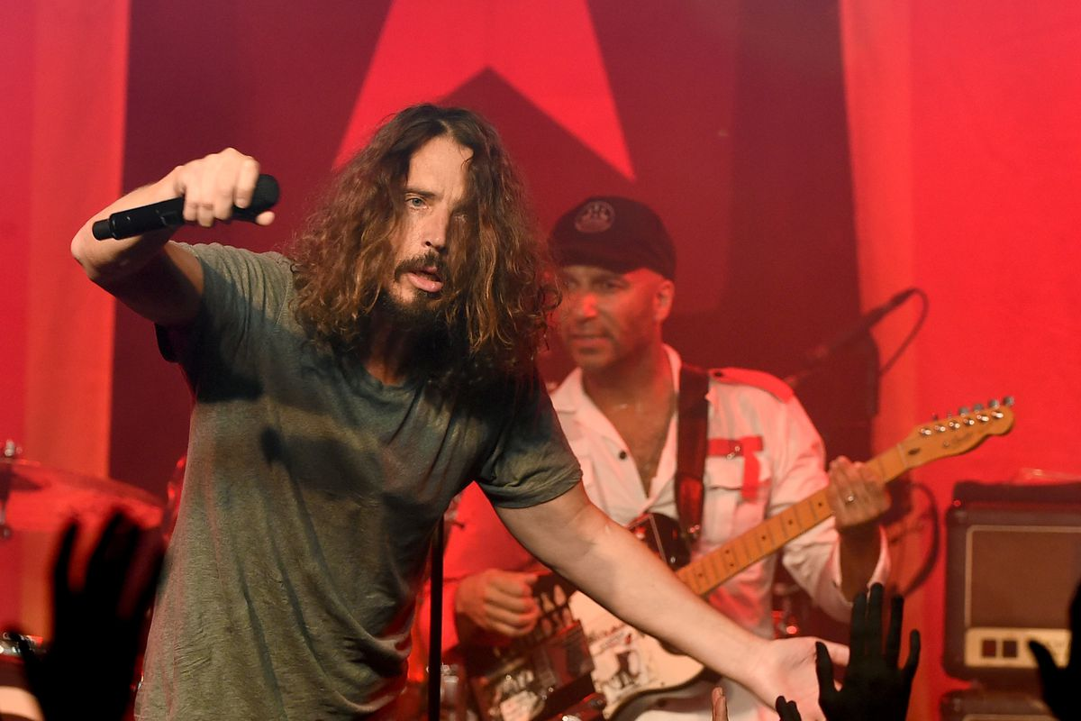Poseur ranks the world grunge bands and the valley shook seriously he was the best yes i know thats audioslave photo by kevin wintergetty images malvernweather Image collections