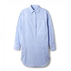 "Alexander Wang cotton shirt dress, <a href=""http://otteny.com/shop/clothing/dresses/melange-cotton-shirt-dress.html"">$475</a> at Otte"
