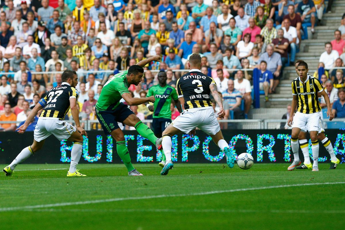 Graziano Pellè's early strike ended any hopes of a famous Vitesse fightback