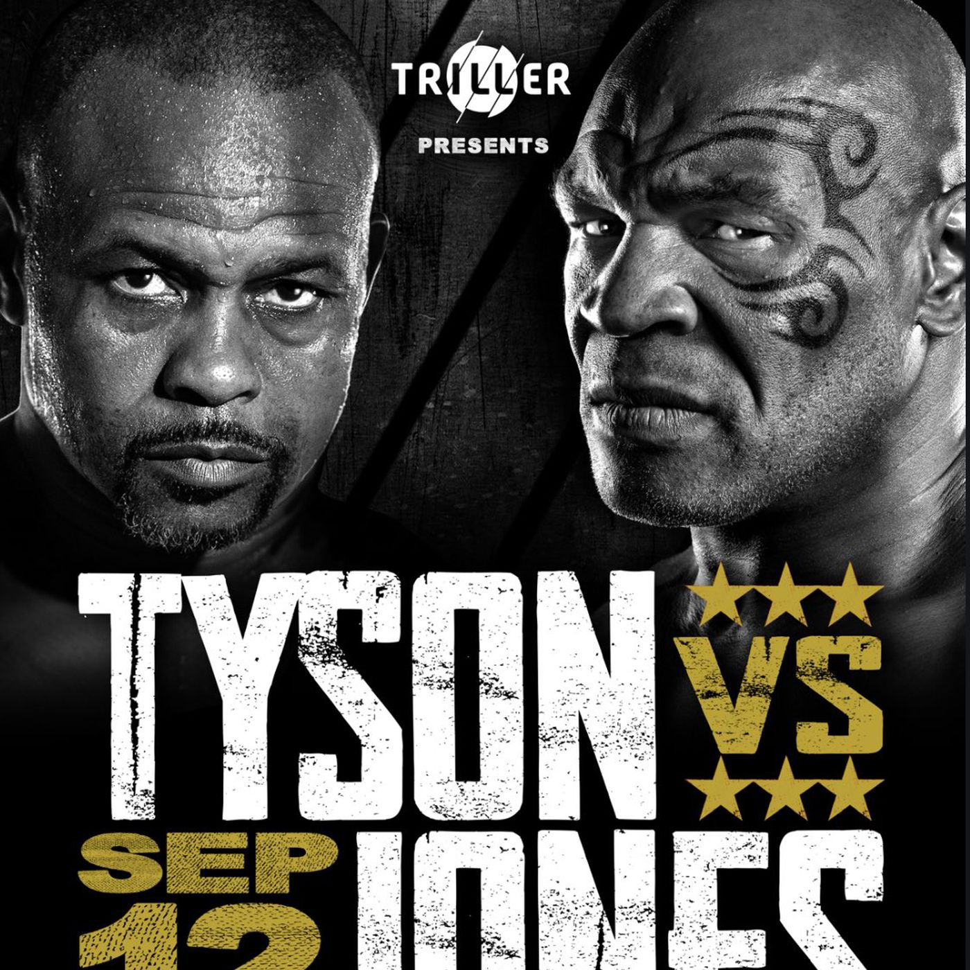 mike tyson vs roy jones jr poster for sept 12 boxing bout mmamania com mike tyson vs roy jones jr poster for