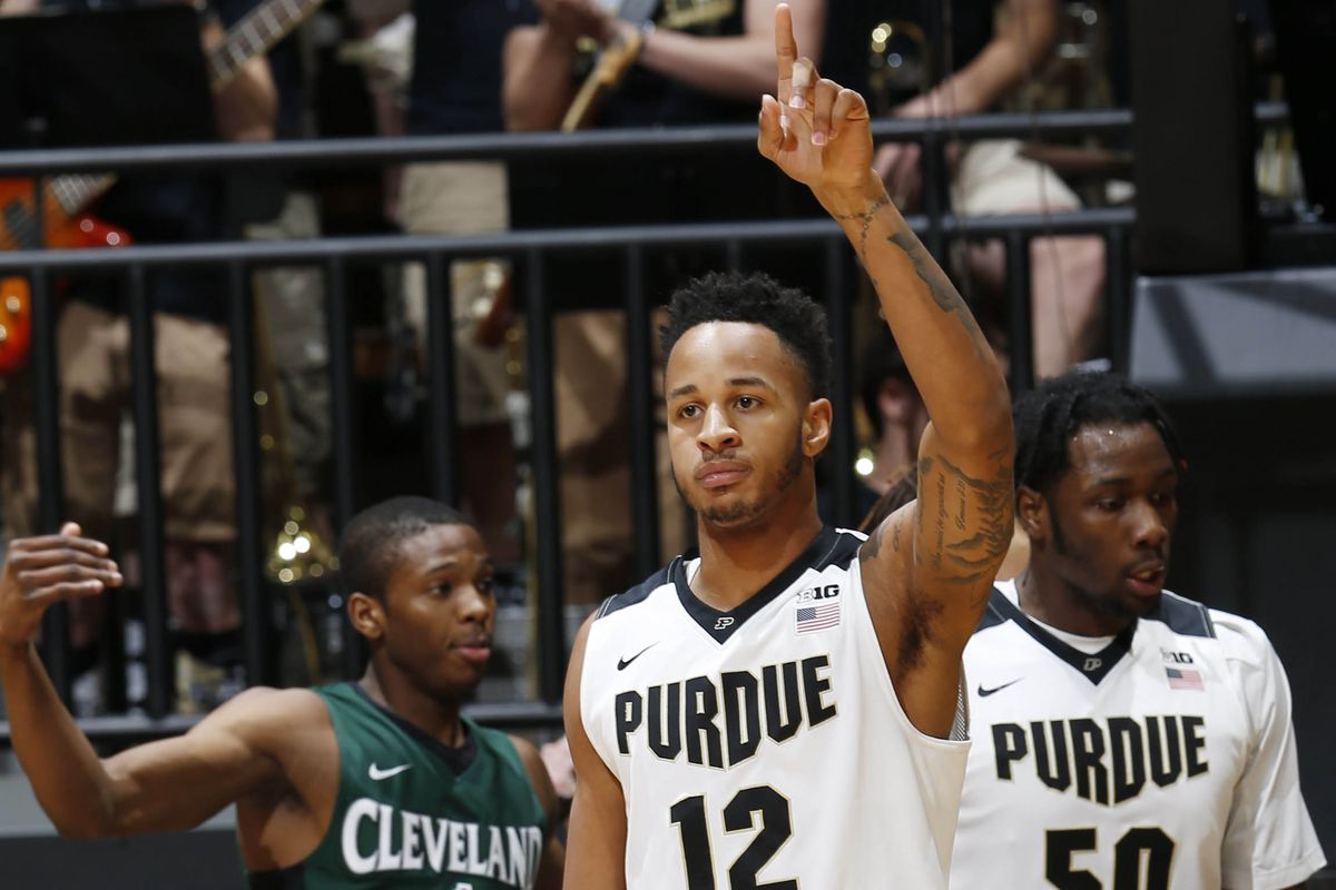 NCAA Basketball: Cleveland State at Purdue