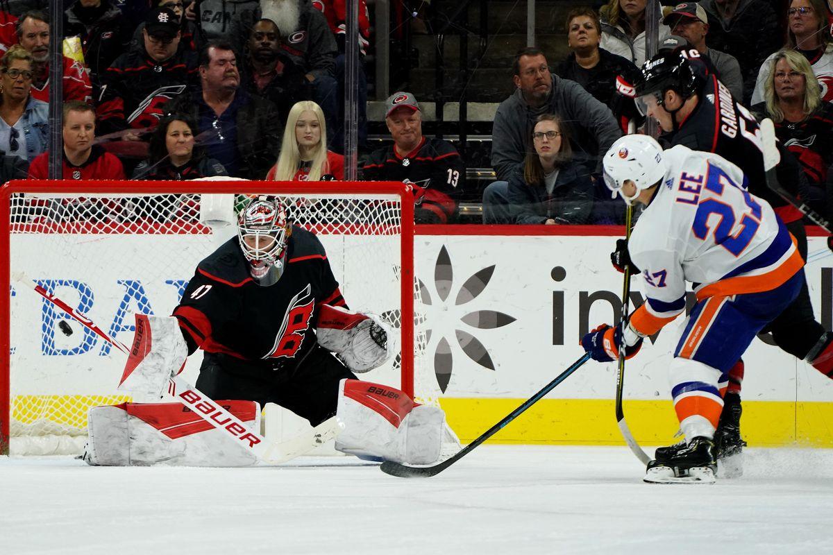New York Islanders v Carolina Hurricanes