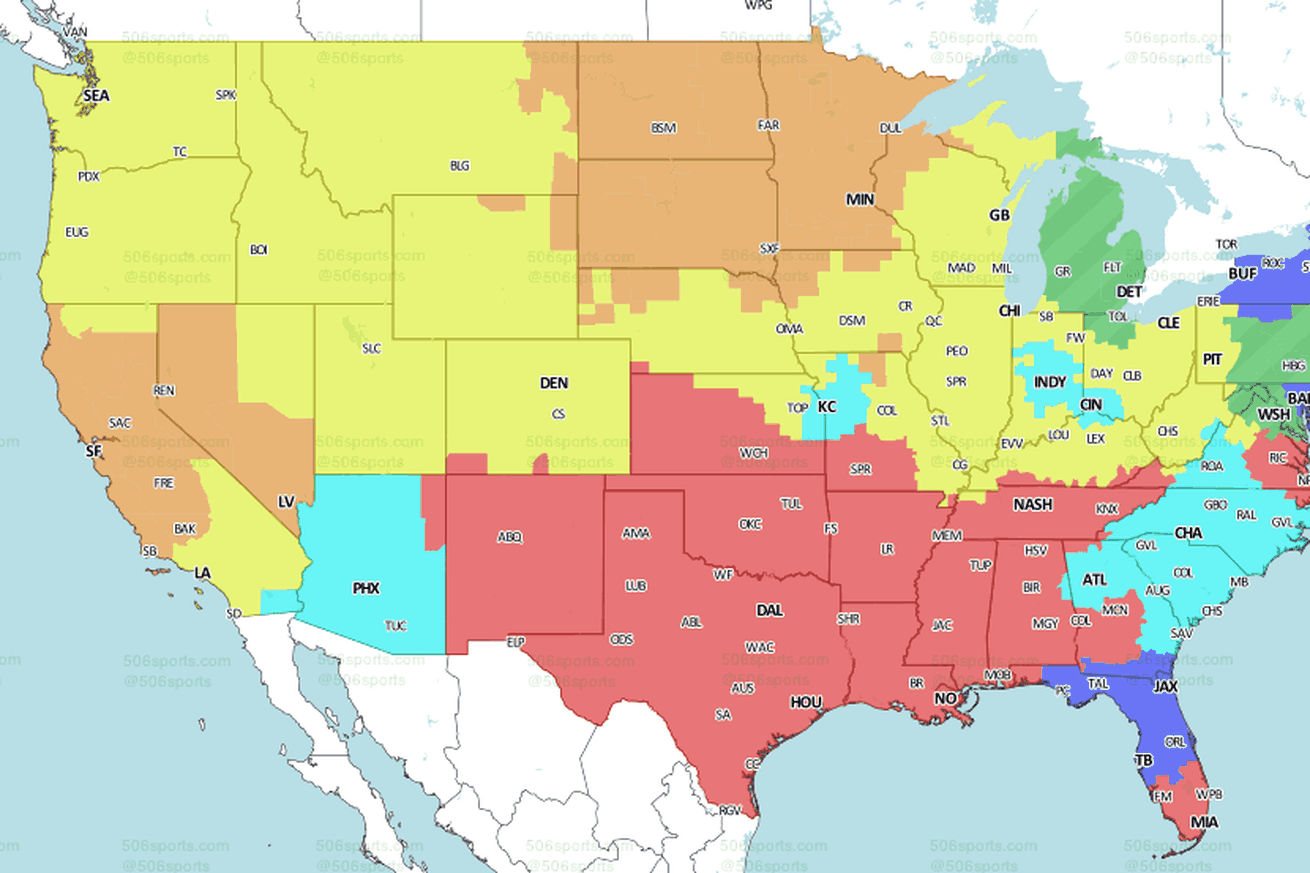 Broncos at Packers: TV broadcast map for Week 3