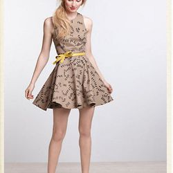 "<a href=""http://us.anthropologie.com/anthro/catalog/productdetail.jsp?id=25106972&parentid=CLOTHES-MIK-22&navCount=24&navAction=jump""><b>Dusen Dusen</b> Trails Skater Dress</a>, $198</a>"