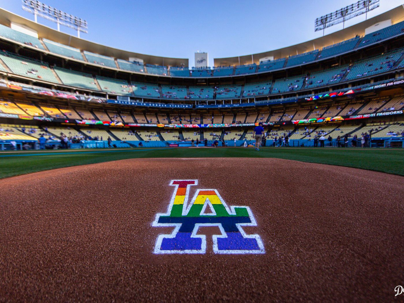 3251121c20f U.S. pro sports was awash in rainbow colors for LGBT Pride events -  Outsports