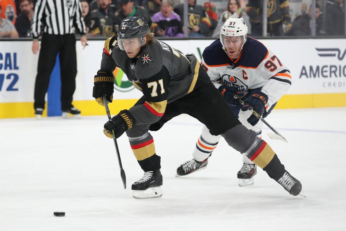Edmonton Oilers v Vegas Golden Knights