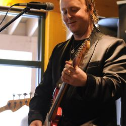 In this photo taken by AP Images for Fender Music Lodge, James McCartney performs at the Fender Music Lodge during the 2012 Sundance Film Festival on Monday, Jan. 23, 2012 in Park City, Utah. (Katy Winn/AP Images for Fender Music Lodge)