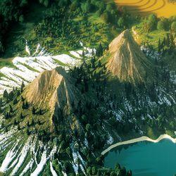 Mountains in <em>Beautiful Minecraft</em>