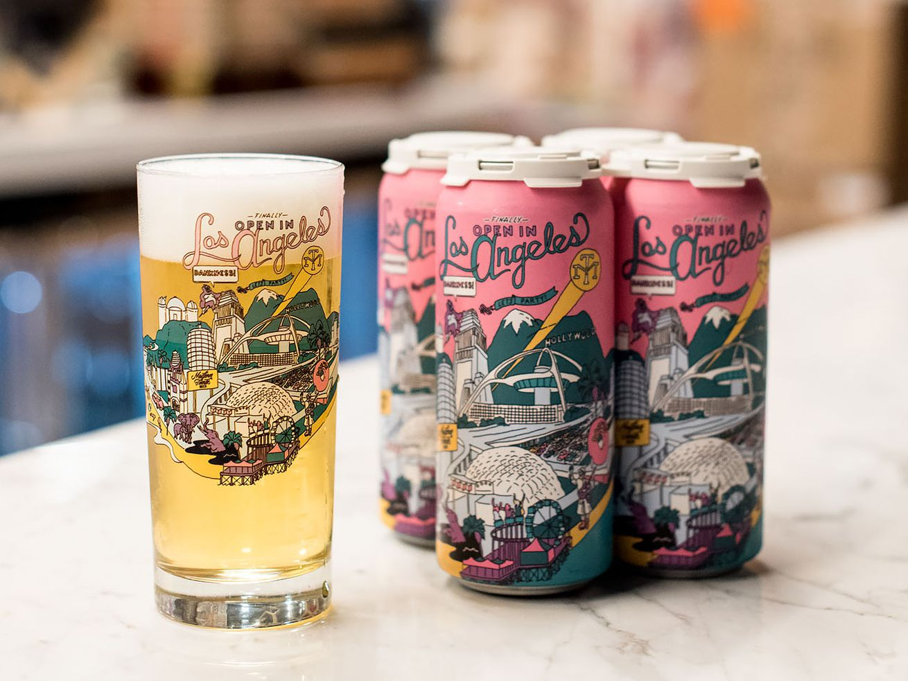 Los Angeles-branded craft beer from Modern Times