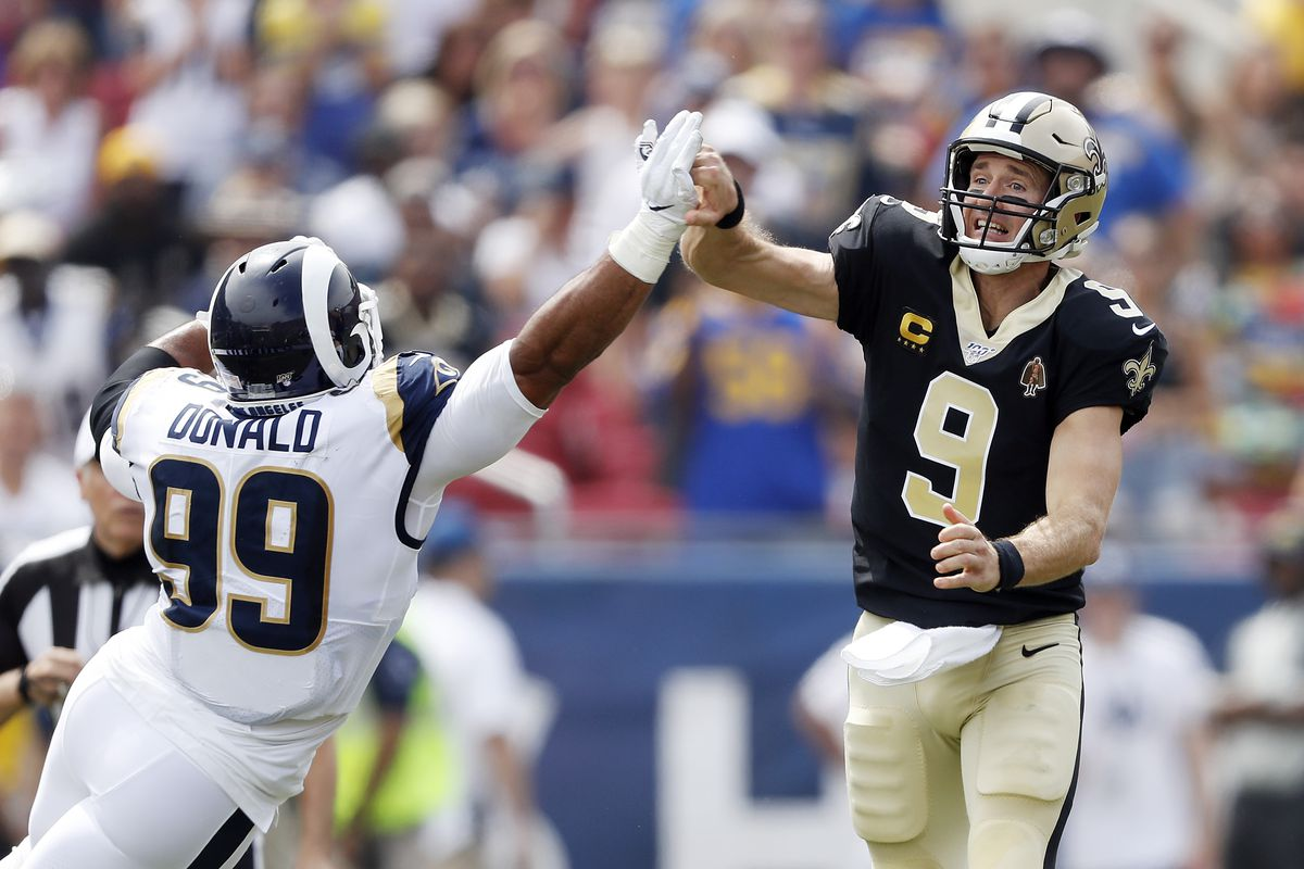 premium selection 10210 e39f9 Rams vs. Saints: Report card doles out worst grade to ...