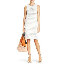 "<b>Diane von Furstenberg</b> Thalia Dress in sea salt, <a href=""http://www.dvf.com/Thalia-Dress/D6742496M13,default,pd.html?dwvar_D6742496M13_color=SEASA#"">$575</a>"