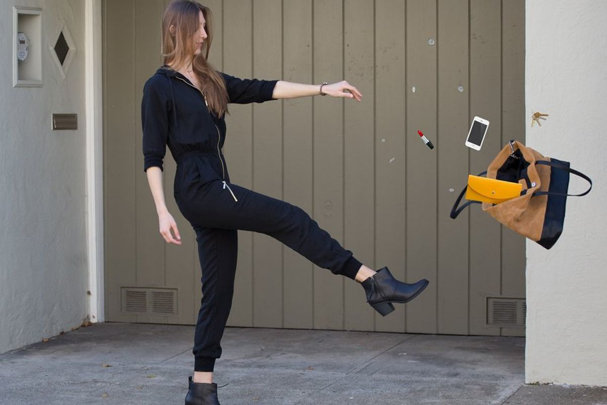 """Photo via <a href=""""http://www.betabrand.com/think-tank/crowdfunding/comedian-margaret-cho-womens-solitaire-jumpsuit.html"""">Betabrand</a>"""