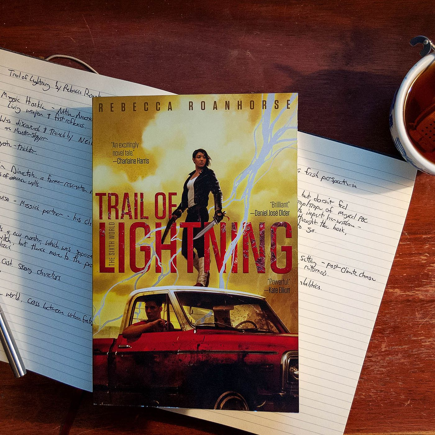 Trail Of Lightning Is A Breathtaking Native American Urban Fantasy Adventure The Verge