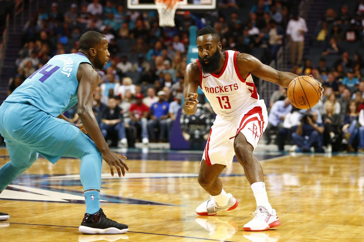 2fd13032f3c James Harden triple-double leads Rockets to easy win over the Hornets