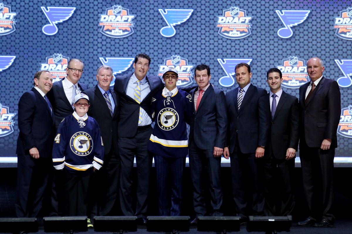 The future of Blues hockey... but what about the past?