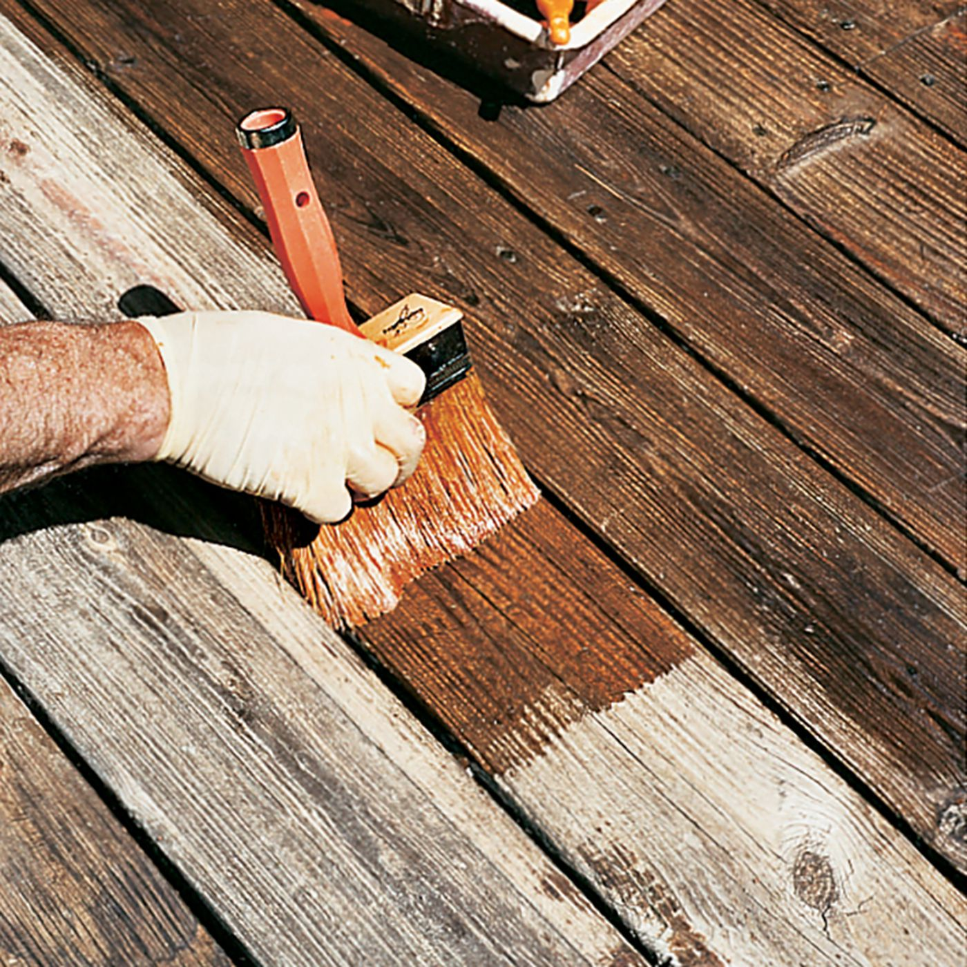 Go From An Old Deck To New In 4 Steps This House